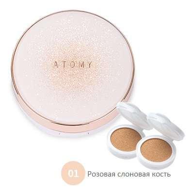 Атоми Кушон с Коллагеном №1 (Розовая слоновая кость)